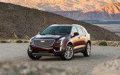Download wallpapers Cadillac XT5, 2018, 4k, luxury American crossover, new cars, SUV, USA, Cadillac