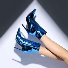 Balenciaga's high-octane Slash Heel ankle boots