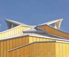 Berlin Berliner Philharmonie Architekt: Hans Scharoun