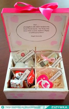 Notice: Undefined variable: desc in /home/www/weselnybox.phtml on line 23 Diy Presents, Diy Gifts, Best Gifts, Handmade Gifts, Wedding Present Ideas, Wedding Gifts, Wedding Ideas, Bride Shower, Baby Shower