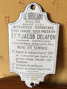 Plaque emaillee ancienne plaques emaillees pinterest for Plaque emaillee ancienne cuisine