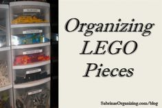 Here is our way of organizing LEGO pieces. Check it out and see if it works for you.