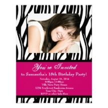 18th Birthday Party Invitations | 18th Birthday Party Invitations, 2,400+ 18th Birthday Party Invites ...