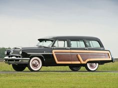 1953 Mercury Monterey Station Wagon Vía: Classic Car Pictures