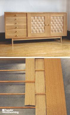 A Simple Mitered Credenza Popular Woodworking Magazine