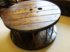 Getting this table this week for my basement. Repurposed furniture is VERY cool..