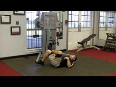 Quick video that shows you how to stretch to reduce lower back pain - YouTube