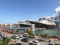 Saldrán 11 barcos de cruceros desde San Juan de Puerto Rico