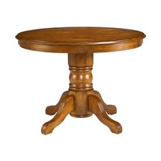 Home Styles Cottage Oak Round Dining Table 5179-30