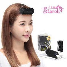 [스타롤] 충전식 열헤어롤 블랙 Headset, Hair, Beauty, Headphones, Headpieces, Hockey Helmet, Ear Phones, Beauty Illustration, Strengthen Hair