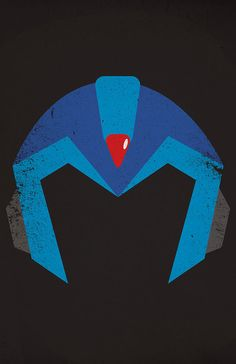 Mega Man X Minimalist Poster Triptych by TheDailyRobot on Etsy, $35.00