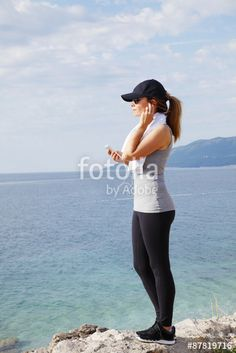 """Download the royalty-free photo """"After workout"""" created by sepy at the lowest price on Fotolia.com. Browse our cheap image bank online to find the perfect stock photo for your marketing projects!"""