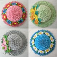 Los sombreros de productos de artesanía más Quilling de papel foto de la banda 1
