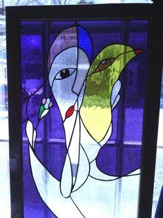 Lady With Bird - Delphi Artist Gallery