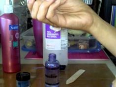 Tutorial;  Home Made Glimmer Mist - After viewing many diff versions of how to make diy shimmer mist.  this seems to be the best way.  The others do not provide a uniform mist of color but this way does.