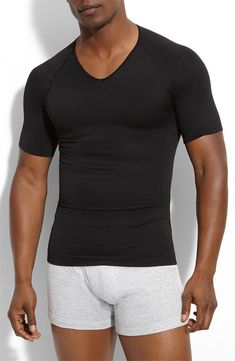 9b0df37f7ec Spanx Men s  Zoned Performance  V-Neck T-Shirt