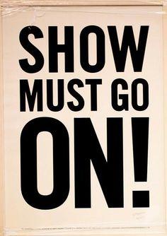 Freddie Mercury | show must go on!