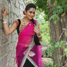 Beautiful Indian Actress, Navel, Telugu, Indian Actresses, Lehenga, Pickles, Boss, Sari, Sweet