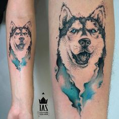 Wolf down some Wolf Cola and Check Out These Howlin' Wolf Tattoos Wolf Tattoos, Home Tattoo, I Tattoo, Aquarell Tattoos, Cool Tats, Desenho Tattoo, Dot Work Tattoo, Tattoo Artists, Watercolor Tattoo