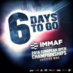 6 days to go... IMMAF European Championship 2016 in Prague... See you there... :-) http://ift.tt/2fX1R8J