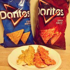 Doritos Chicken Tenders #littlecookinthebigcity