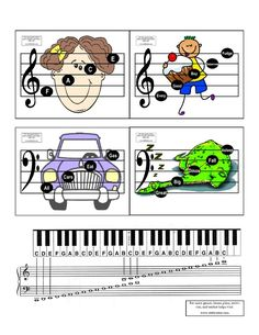 Printed these for JT. Helps a lot with memorizing! They sit on the piano and I…