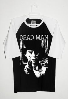 DEAD MAN Jim Jarmusch Johnny Depp CAMISETA Raglan por RetroBCN