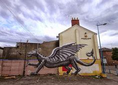 Phlegm (2013) - Cardiff, Wales (UK)