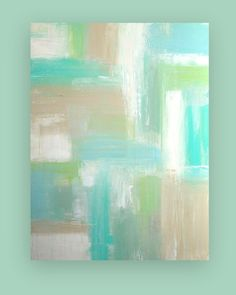Art Painting Acrylic Abstract on Canvas by OraBirenbaumArt on Etsy, $385.00
