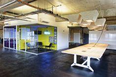 Les nouveaux bureaux de Souncloud dans une brasserie berlinoise