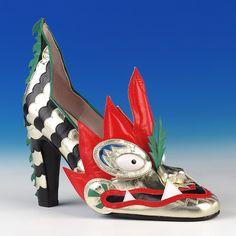 Dragon shoe, circa 1979