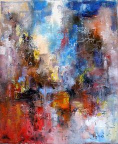 Konrad Biro  abstract impressionism