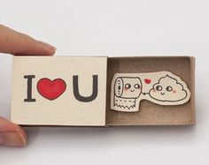 Cute Valentine's Day Card / Witty Valentine's Card/ by 3XUdesign