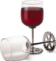 Sprocket Wine Glass