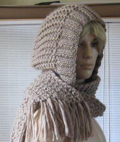 38dd974ae6a1 modèle tricot echarpe bonnet gratuit Echarpe Capuche, Echarpe Tricot,  Modèle Tricot, Comment Tricoter
