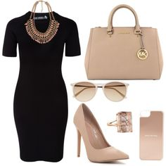 A fashion look from March 2015 featuring mini dress, high heel shoes and satchel handbags. Browse and shop related looks.