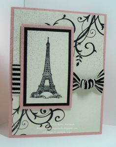 28 Super Ideas For Vintage Cards Handmade Eiffel Towers Scrapbooking, Scrapbook Cards, Eiffel Tower Art, Eiffel Towers, Cool Cards, Diy Cards, Paris Cards, Masculine Birthday Cards, Travel Cards