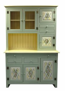a Hoosier Cabinet would be great, especially with the slide out ...