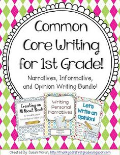 TGIF! - Thank God It's First Grade!: Writer's Workshop in my Classroom (Part Two)