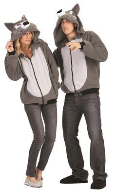 adult willie the wolf costume hoodie - Wolf Costume Halloween