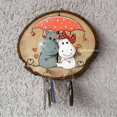 Stone Crafts, Rock Crafts, Diy Home Crafts, Diy Crafts To Sell, Arts And Crafts, Paper Crafts, Pebble Painting, Pebble Art, Stone Painting