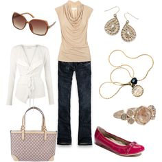 Romancing Neutrals, created by mismel on Polyvore