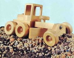 Road Grader - Children's Wooden Toy Plans and Projects - Woodwork, Woodworking, Woodworking Plans, Woodworking Projects