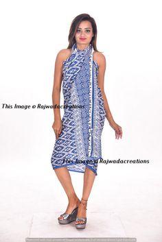 5e59b1ae131f7 Fashion Beach Sexy Bikini Cover Up Cotton Sarong Wrap Pareo Summer Towel  Dress #Rajwadacreations #