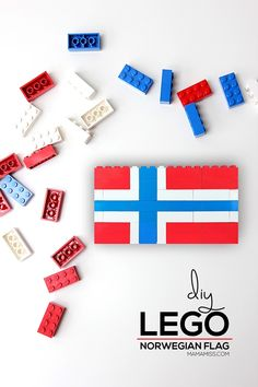 Study each country flag in a fun & educational way – with Legos from Norway Crafts For Kids, Activities For Kids, Multicultural Activities, Steam Activities, Winter Activities, Norway Culture, Norwegian Flag, Norway Flag, Learning A Second Language