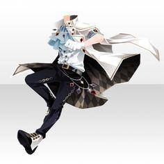 怪盗トリックスター|@games -アットゲームズ- Dress Drawing, Drawing Clothes, Anime Outfits, Cool Outfits, Anime Boy Hair, Badass Drawings, Clothing Sketches, Cocoppa Play, Character Outfits