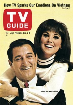 TV Guide: December 1967 - Danny Thomas and daughter, Marlo Thomas Marlo Thomas, Danny Thomas, Radios, Comedy, Vintage Television, Becoming An Actress, Vintage Tv, Vintage Posters, Tv Land