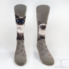 Cats - Himalayan Men Size | JHJ Design - The Art of Wearing Socks