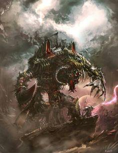 Daemon Engine of Khorne vs Grey Knight