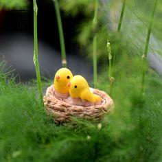 10pc Ponds Mini Bonsai Terrarium Craft Fairy Garden Micro Landscape Decor